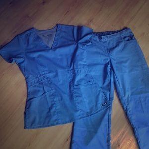 Greys Anatomy ceil blue scrubs